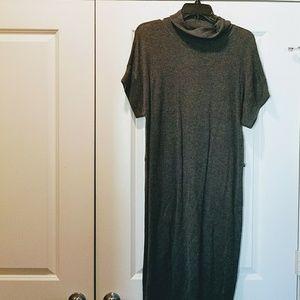 WORTHINGTON GREY SWEATER DRESS
